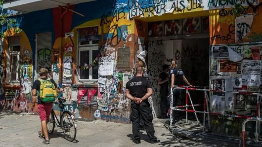 Rigaer Straße in Berlin (Quelle: imago/Markus Heine)