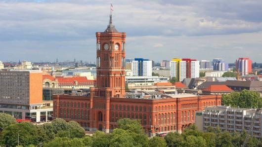 Das Rote Rathaus in Berlin