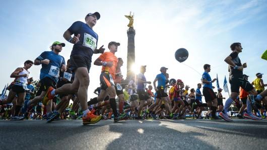 Rund 42.000 Läufer waren am dem 43. Berlin-Marathon teilgenommen. Zehntausende haben sie angefeuert