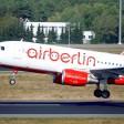 Ein Flugzeug von Air Berlin startet am Flughafen Tegel
