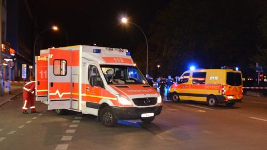 An der Straße Alt-Moabit ist eine Frau angefahren und schwer verletzt worden