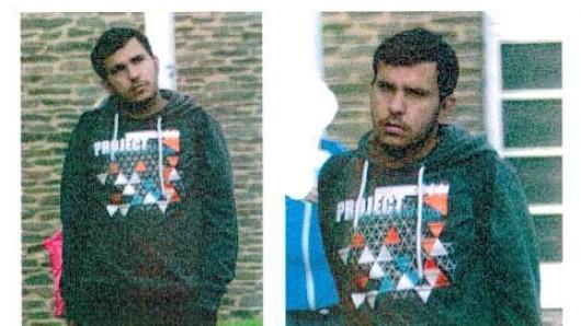 Mit diesen Fotos hatte die Polizei nach Dschaber al-Bakr gefahndet. Am 12. Oktober brachte er sich in der  JVA Leipzig um
