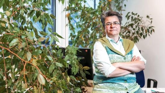 Monika Herrmann ist die Bezirksbuergermeisterin von Friedrichshain Kreuzberg