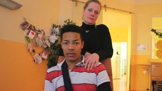 Sonja Prinz und ihr Sohn