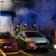 Der Brand war in einer Wohnung im Erdgeschoss ausgebrochen