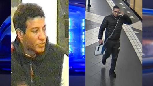 Mit diesen Bildern sucht die Polizei nach den beiden Tatverdächtigen