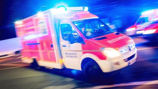 Drei Menschen wurden verletzt