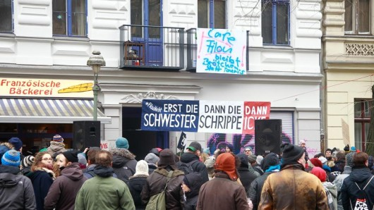 Protest in Kreuzberg