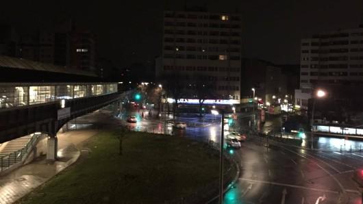 Stromausfall am  Kottbusser Tor