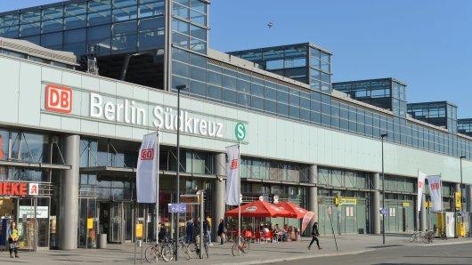 Der Bahnhof Südkreuz