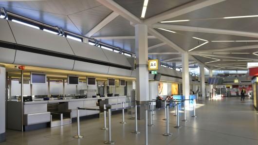 Warnstreik der Bodenbediensteten am Flughafen Tegel Mitte Februar