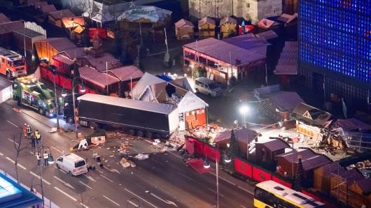 Der Anschlag auf den Weihnachtsmarkt am Breitscheidplatz im Dezember 2016