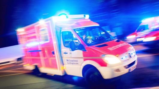 Die 21-Jährige kam in ein Krankenhaus