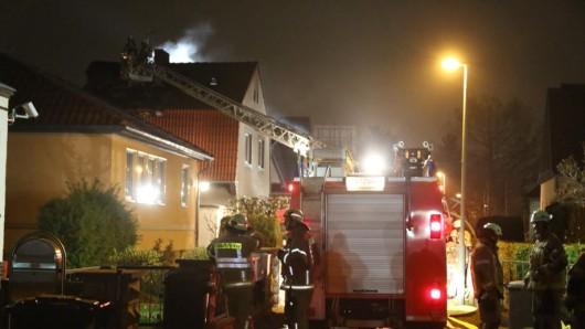 In Lichtenberg brannte es