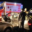 Der Fahrer musste nach dem Unfall aus seinem Peugeot befreit werden