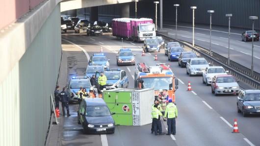 Unfall auf der A100