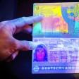 Ein Musterexemplar vom neuen deutschen Reisepass