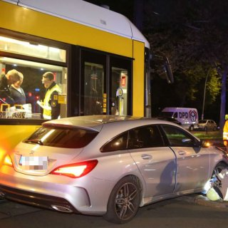 Unfall in Pankow