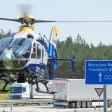 Der Polizeihubschrauber war über der A12 im Einsatz. Er filmte aus 200 bis 300 Metern Höhe