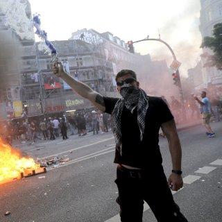 Gewaltsame Ausschreitungen im Schanzenviertel beim G20-Gipfels