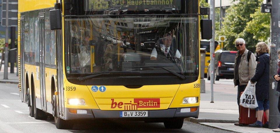 Der Busverkehr in Berlin soll ausgebaut werden