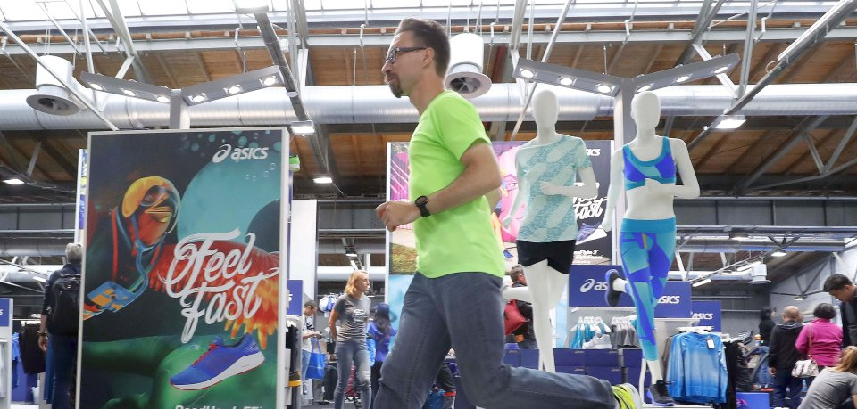 Die Messe Vital zeigt neue Trends rund um das Thema Laufen