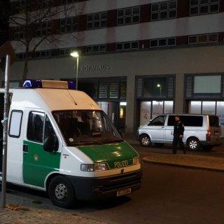 Polizeieinsatz am Bundesentwicklungsministerium