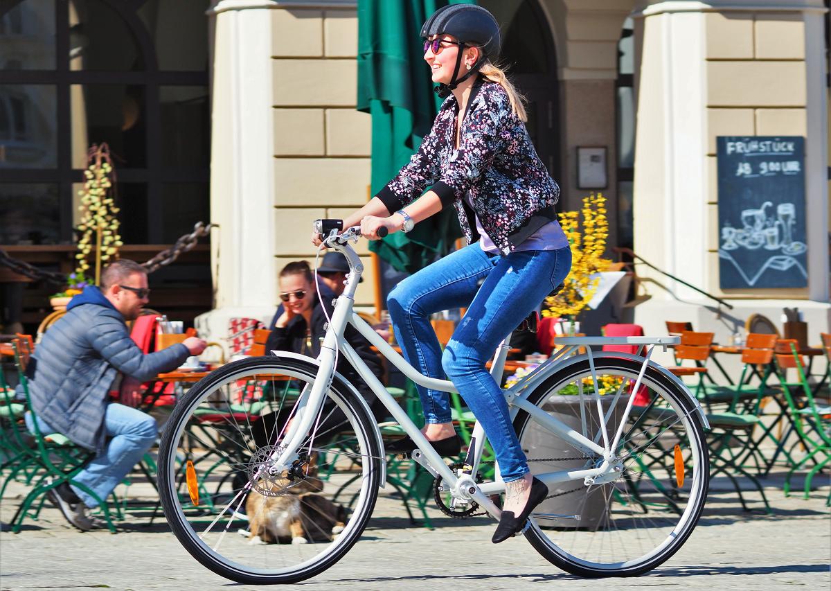 Das robuste Stadler Stadtrad von Dynabike ist, was Preis-Leistung anbelangt, nahezu unschlagbar.
