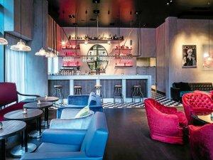 Die Jamboree Bar im Grand Hyatt Potsdamer Platz