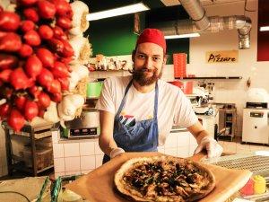 Stefano Preada aus dem Restaurant Pizzare in Prenzlauer Berg.