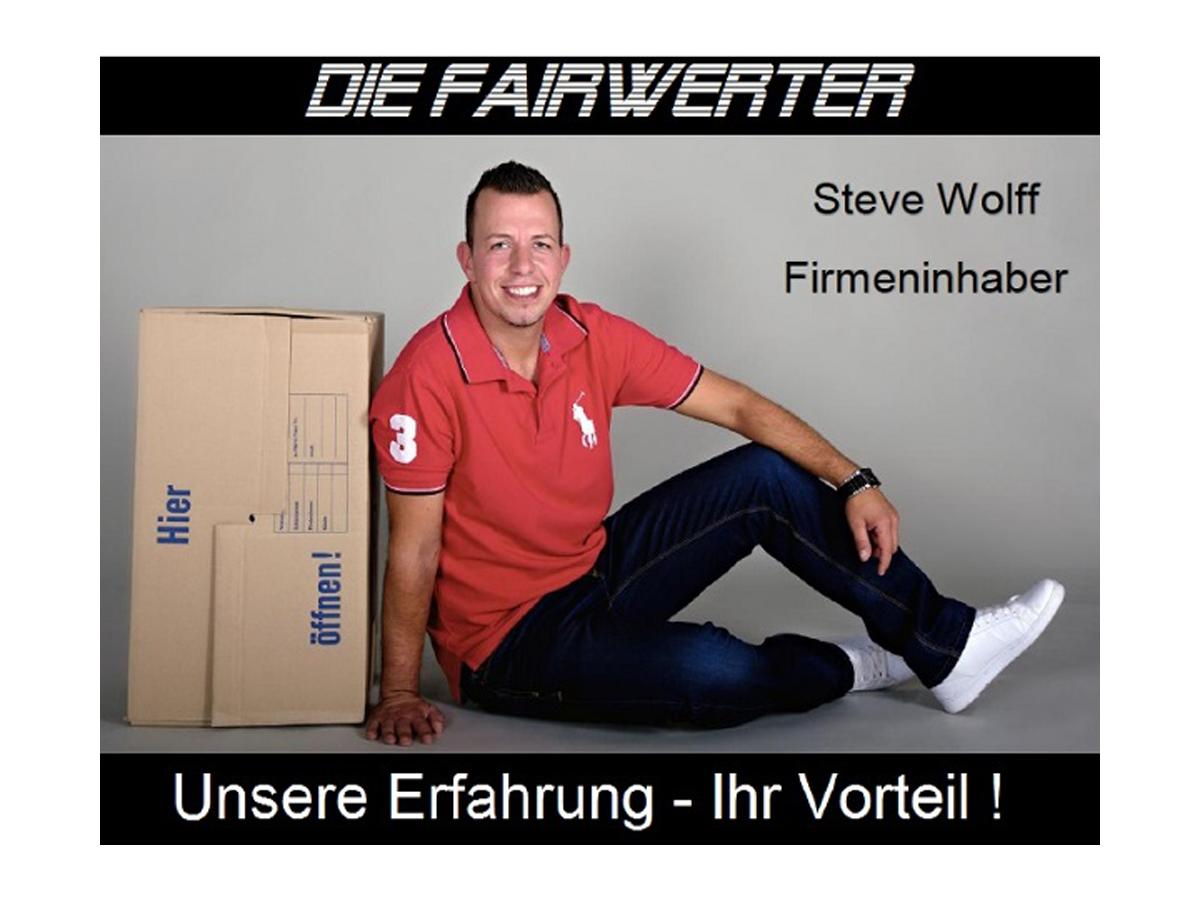 """Wohnungsauflösungen, Entrümpelungen, Nachlassverwertung: Das ist seit Jahren das Geschäft von  Steve Wolff. Wie das geht und was es mit dem neuen Namen """"Die FAIRwerter"""" auf sich hat, erklärt er im Interview."""