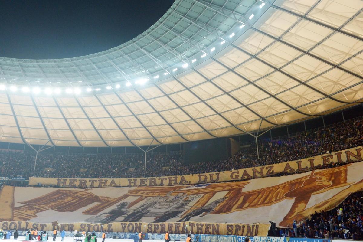 """Einmal Derby hautnah """"an der Spree gibt es nur Hertha BSC"""