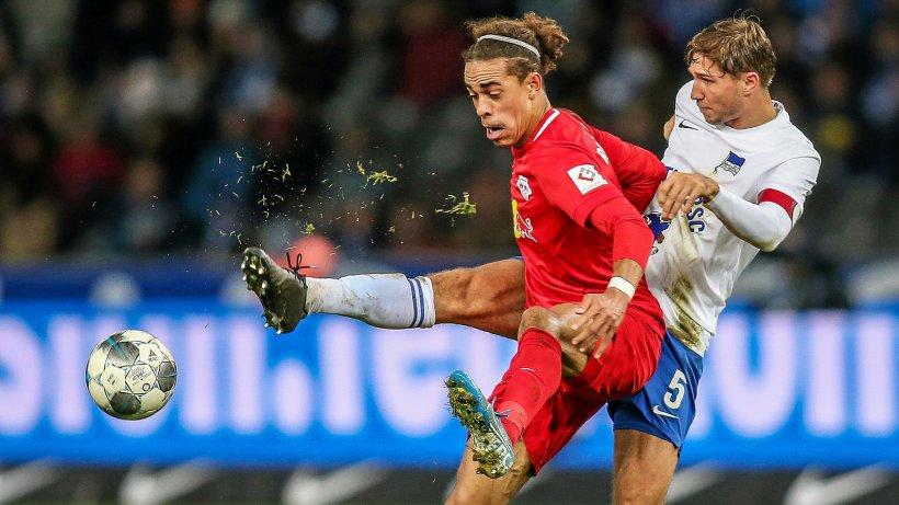 RB Leipzig gegen Hertha BSC live im TV & Stream