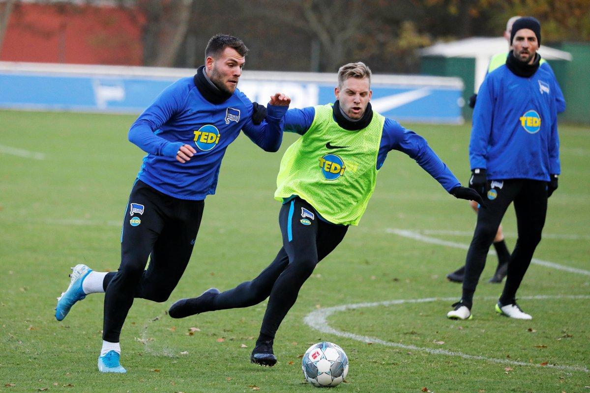 Hertha BSC - Ein schöner Tag für Arne Maier