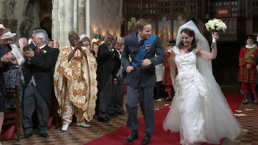 Kate Und William Tanzen Im Werbespot Zum Altar Hochzeit