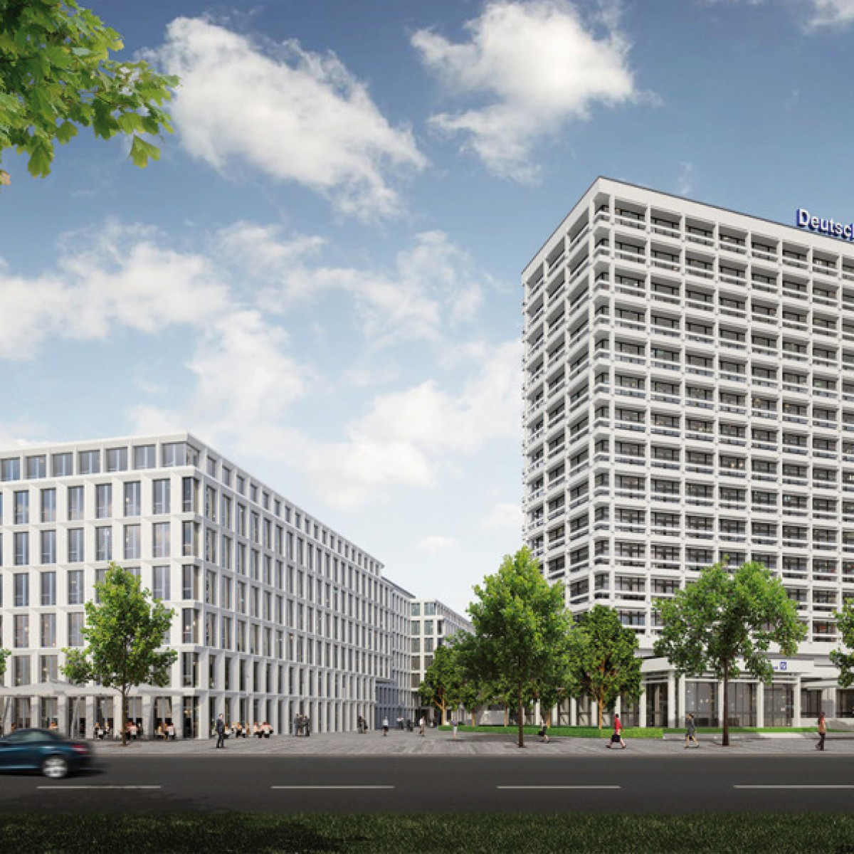 Deutsche Bank öffnet neue Zentrale in Berlin   Berliner Morgenpost