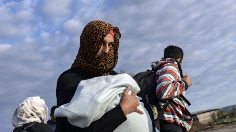 Winter Flüchtlinge