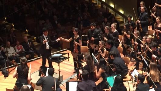 Jugendliche aus Zehlendorf und Peru spielten am Sonntag in der Philharmonie