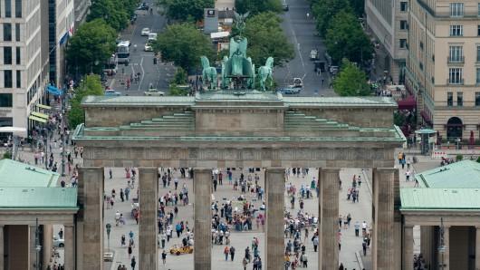 Wo liegt das denn? Das Brandenburger Tor in Berlin