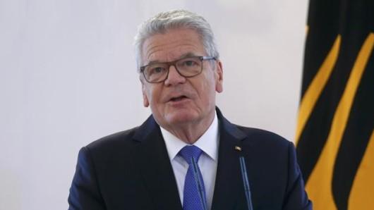 Gauck will nicht mehr als Bundespräsident antreten