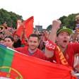 Noch hoffen die Fans von Portugal...