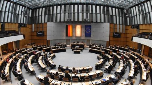 Im Abgeordnetenhaus von Berlin.