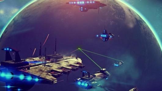 Kurz vor der Veröffentlichung von No Man's Sky haben die Entwickler noch einmal technisch und inhaltlich nachgelegt. Screenshot: Sony Computer Entertainment