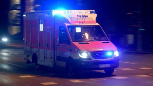 Ein Rettungswagen.