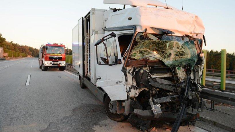 Unfall A10 Gestern