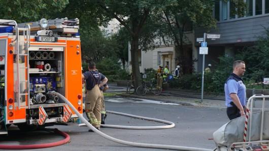 50 Einsatzkräfte der Feuerwehr rückten zu der Gas-Havarie aus