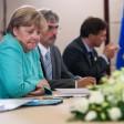 Kanzlerin Merkel vor einem Gespräch mit Kremlchef Putin während des G20-Gipfels in Hangzhou. Kurz zuvor waren die ersten Hochrechnungen der Landtagswahl in Mecklenburg-Vorpommern veröffentlicht worden.
