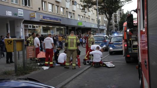 Der Junge wurde nach dem schweren Unfall zunächst vor Ort behandelt