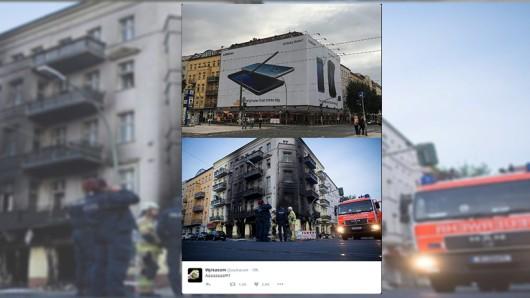 Hierbei handelt es sich um eine Hauswand in der Warschauer Straße Ecke Grünberger Straße