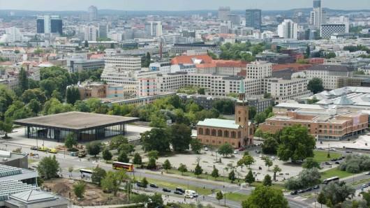Hier soll das Museum der Moderne entstehen